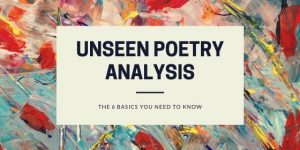 6 basic things to analyse unseen poetry blog post image
